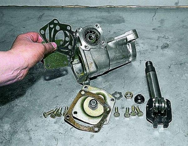 Рулевой механизм ВАЗ 2107