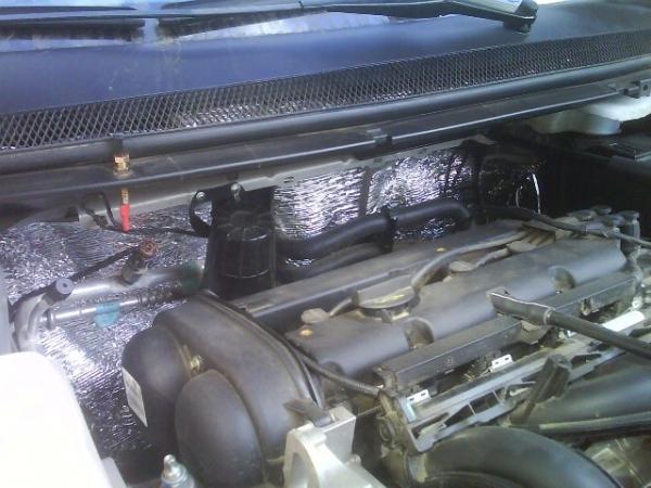 Полная шумоизоляция автомобиля ВАЗ 2107