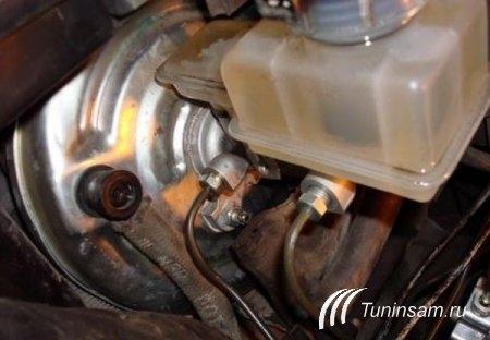 Доработка тормозной системы ВАЗ 2110