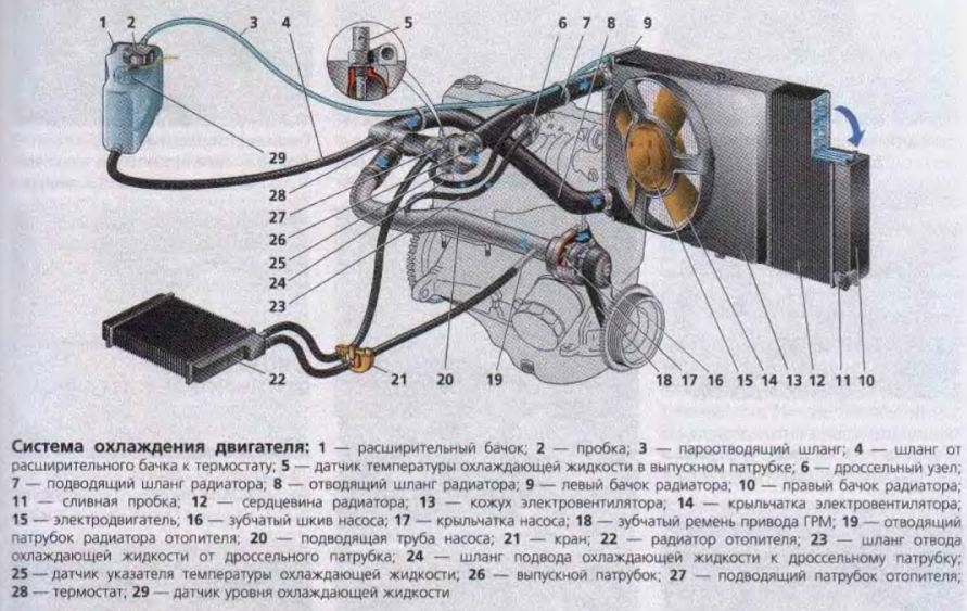 Фото №5 - система охлаждения ВАЗ 2110