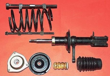 Элементы передней подвески