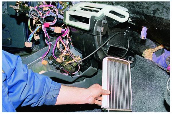 Радиатор обогревателя