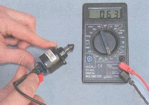 Фото №15 - как проверить мультиметром рхх ВАЗ 2110