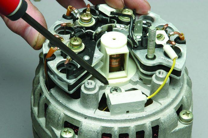 Ремонт автомобильного генератора своими руками