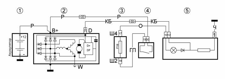 Фото №23 - схема генератора ВАЗ 2110