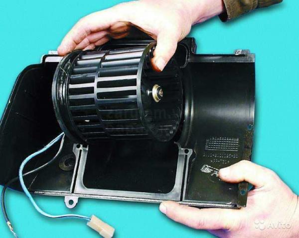 Демонтированный агрегат