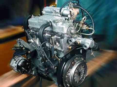 Демонтированный мотор