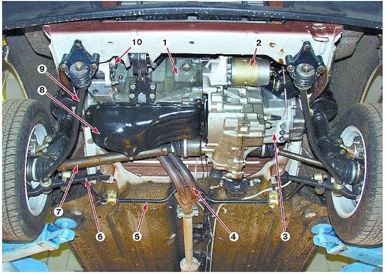 Передняя подвеска устройство и ремонт своими руками на Ваз