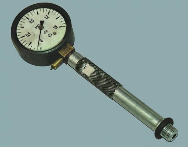 Стандартный манометр для проверки