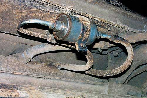Топливный фильтр ВАЗ 2109 инжектор и карбюратор фото- и видеообзор