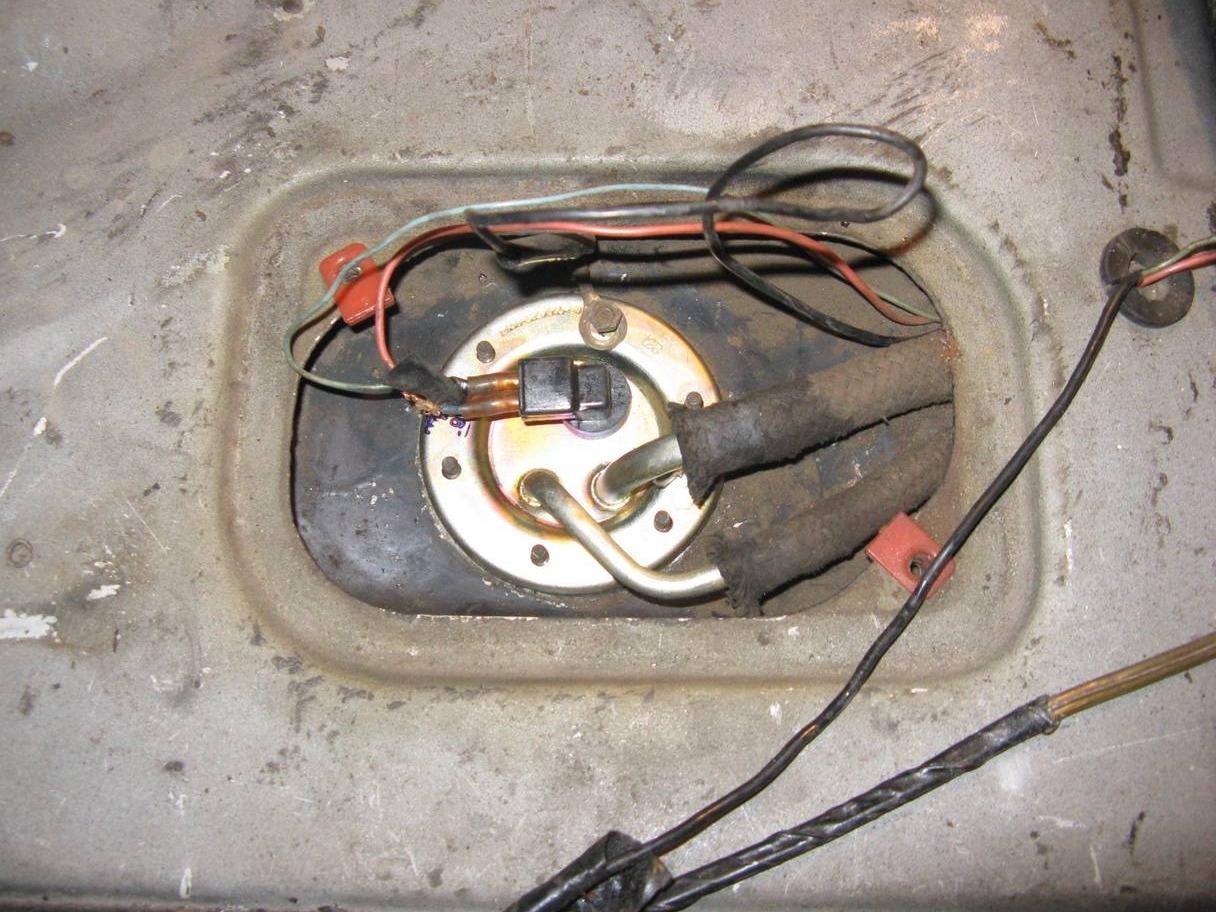 датчик уровня топлива на ваз 2109 схема