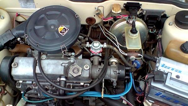 Двигатель девятки