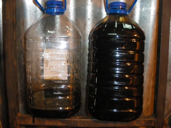 Так выглядит старое масло