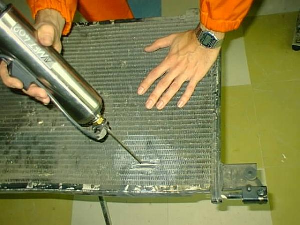 Проблемный радиатор